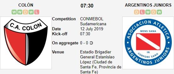 Colon-de-Santa-Fe-vs-Argentinos-Juniors-tin-vao-chu-nha-07h30-ngay-12-7-luot-di-vong-18-cup-c2-nam-my-copa-sudamericana-2